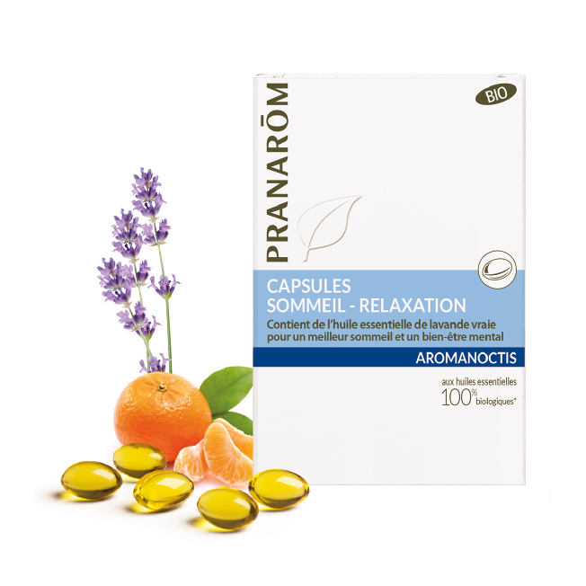 Capsules : Sommeil - Relaxation - 30 capsules | Pranarôm