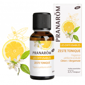 Zeste tonique - 30 ml | Pranarôm